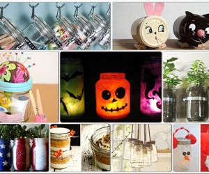 140 Diy Mason Jar – Crafts, Lights, Storage, Vases, Glitter