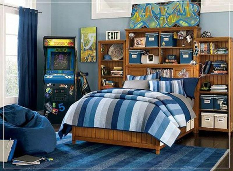 Whimsical Teen Boy Bedroom