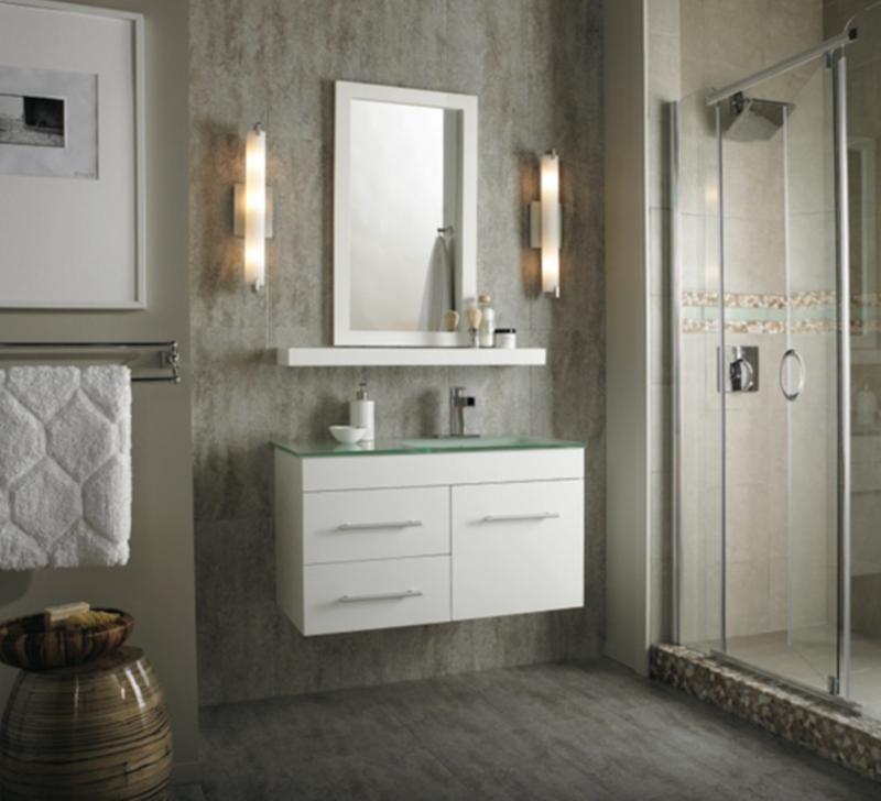 10 Sleek Floating Bathroom Vanity Design Ideas