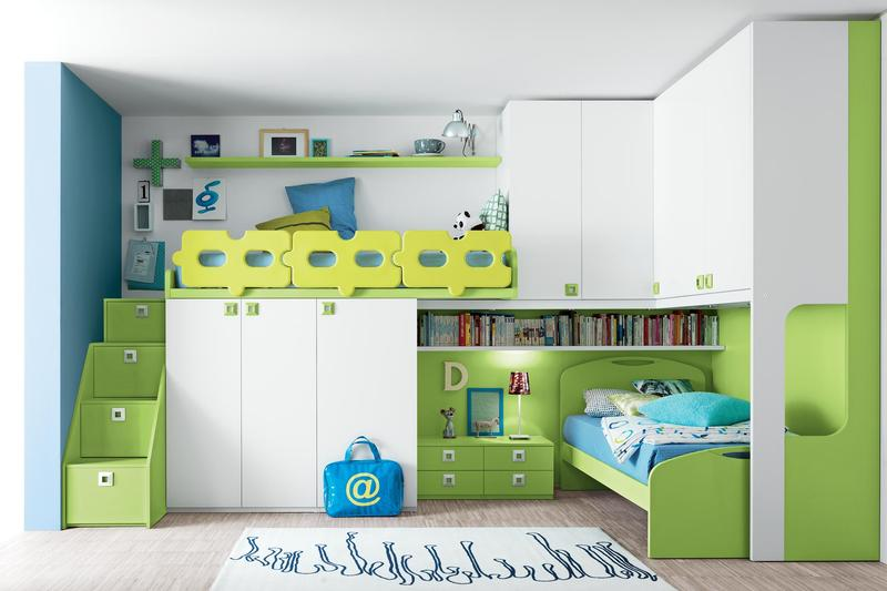 Amazing Amazing Kidu0027s Bedroom With Floating Shelves