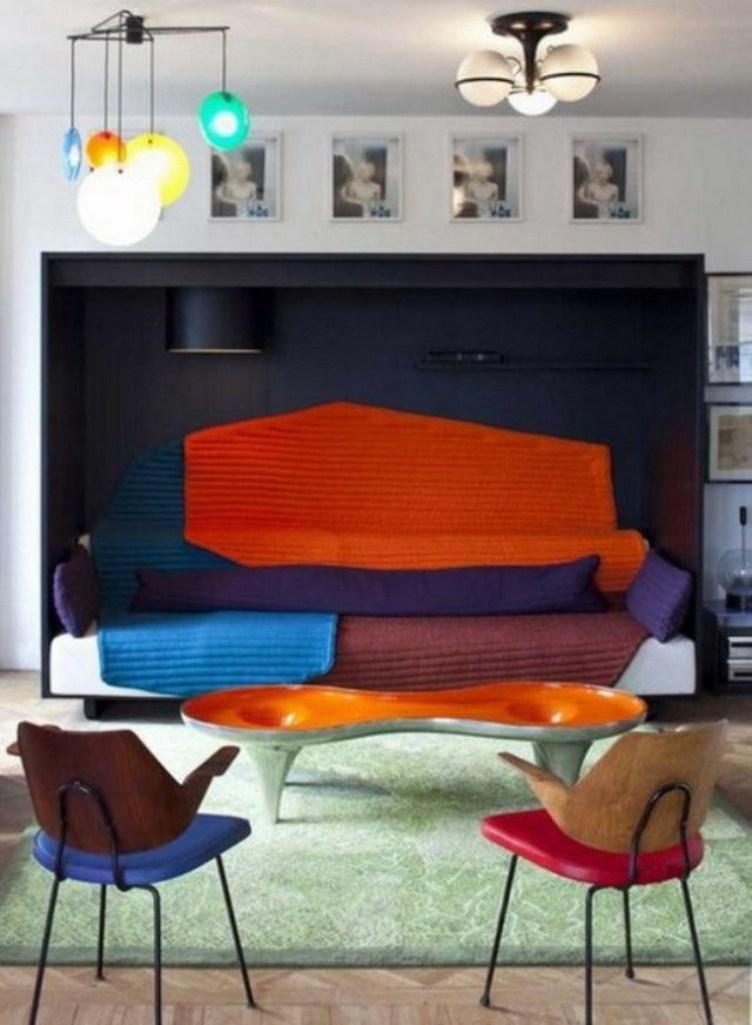 Daring Art Deco Living Room - 20 Bold Art- Deco Inspired Living Room Designs - Rilane