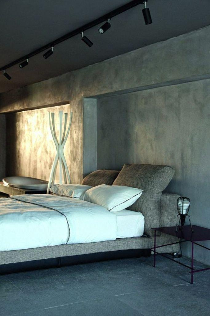 20 Bold Bedroom Designs With Concrete Walls Rilane
