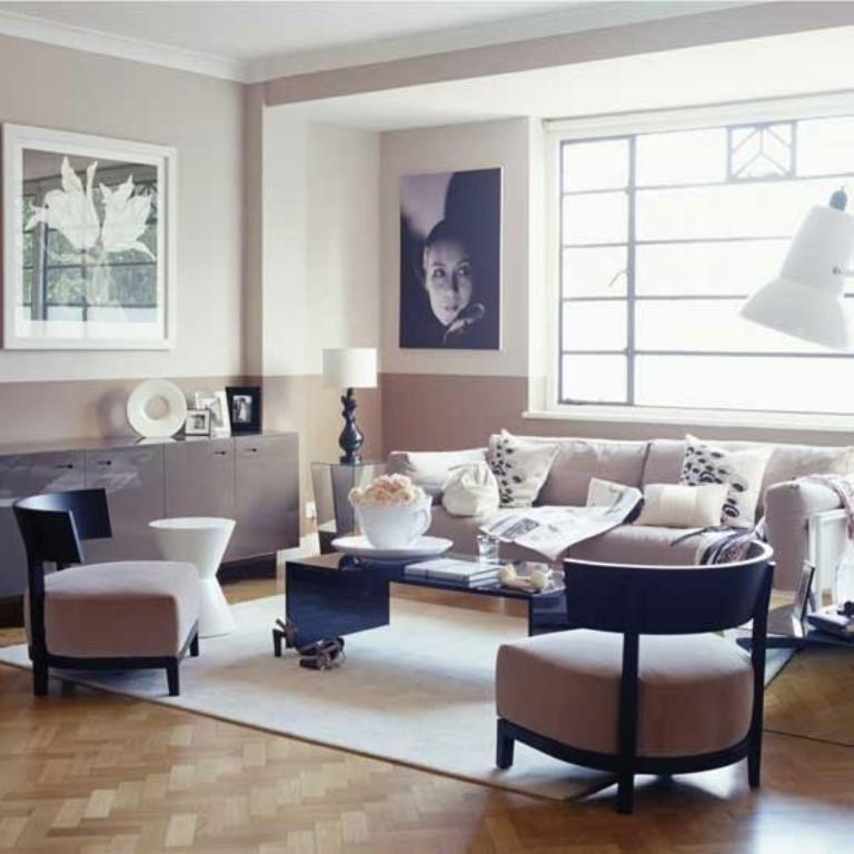 20 Bold Art- Deco Inspired Living Room Designs - Rilane Deko Modern Living