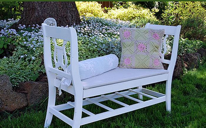Diy Bench Ideas Storage Pallet Garden Cushion Rilane
