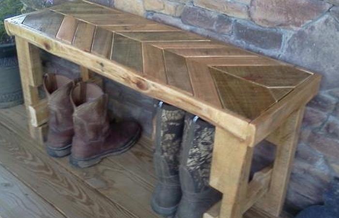 furniture made out of wood. diy pallet chevron top benchbench made out from with a will surely stand magnificently in your home check this project and furniture of wood t