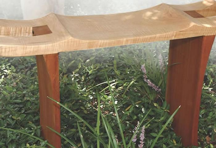 Outdoor Bench Ideas Part - 24: ... To Make Organized And Super Romantic Picnic In Your Own Garden Is A  Super Idea, Right? Check Out The Project And Learn How To Make This Outdoor  Bench.