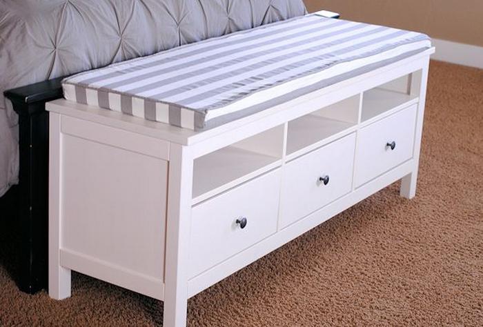 77 diy bench ideas storage pallet garden cushion rilane. Black Bedroom Furniture Sets. Home Design Ideas