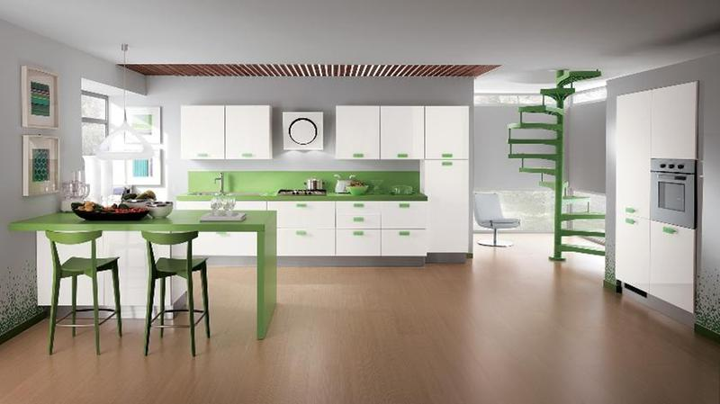 amazing kitchen designs. Amazing Kitchen with Pastel Green 15 Soft Colored Design Ideas  Rilane