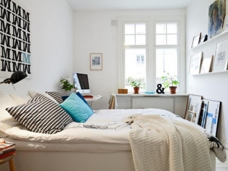 Artistic Scandinavian Bedroom. Image Source:Home My Design