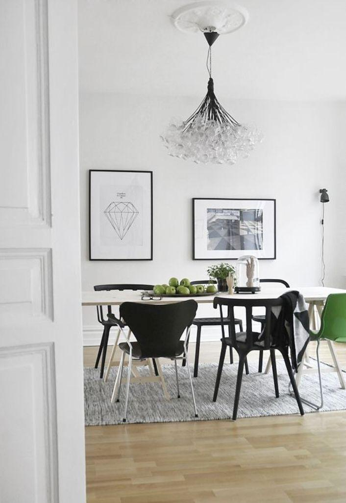 20 astonishing scandinavian dining room ideas rilane Scandinavian style dining room