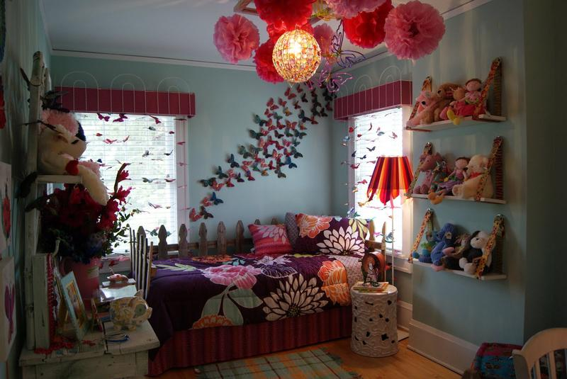 15 charming butterfly themed girl s bedroom ideas rilane for Girl themed bedroom ideas
