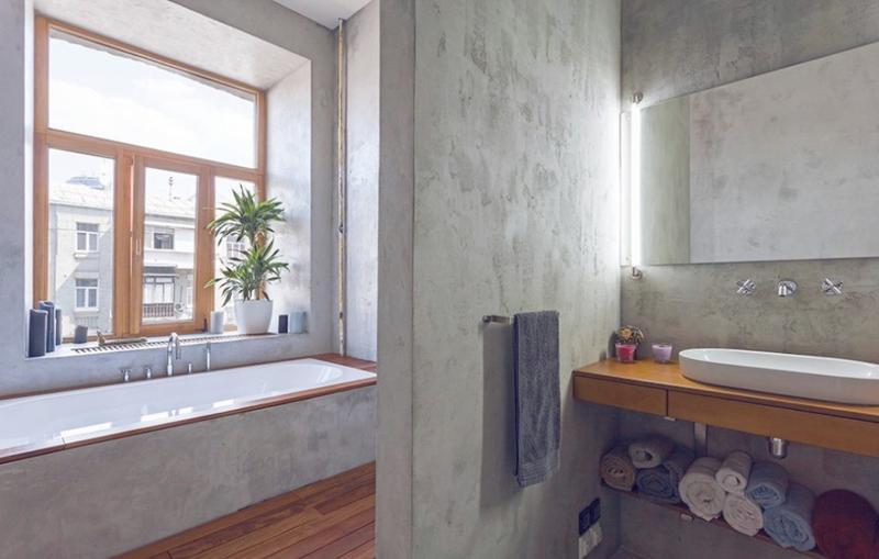 15 Bold Bathroom Designs With Concrete Walls Rilane