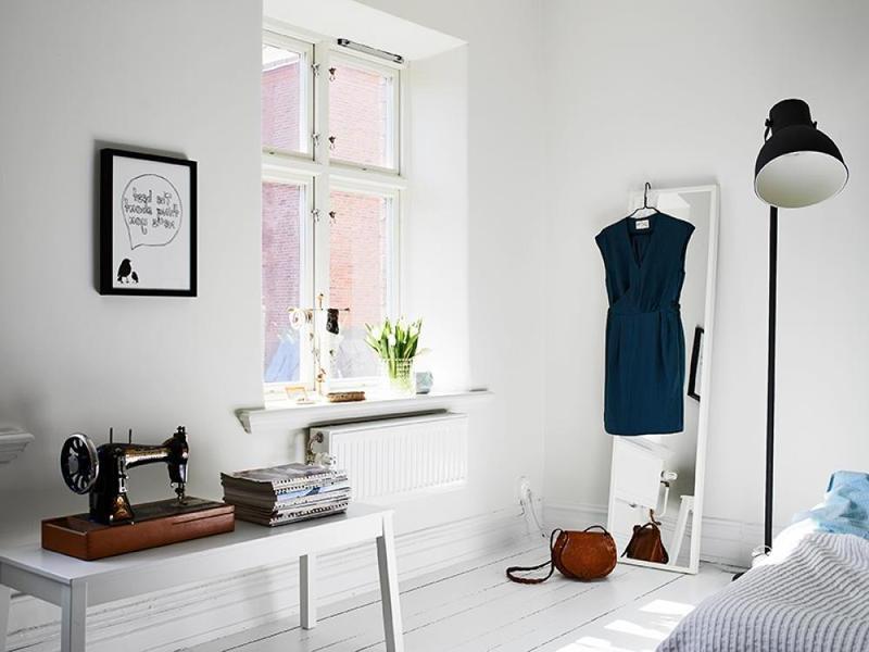 charming scandinavian bedroom