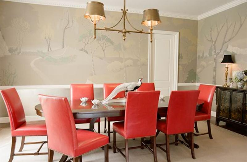 10 Dining Room Designs With Coral Peach Motifs Rilane