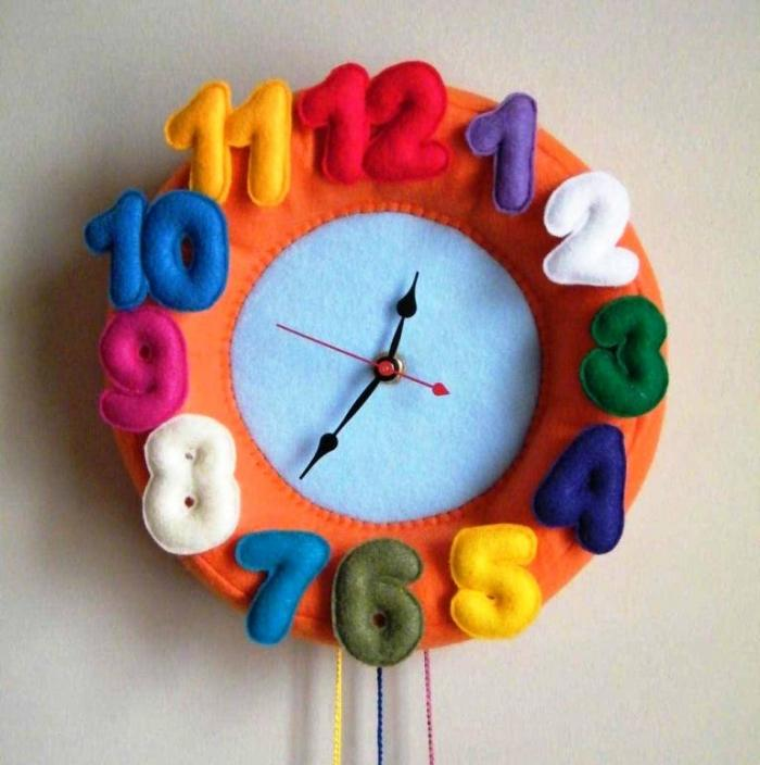 20 Cute And Colorful Wall Mount Clocks For Kids Bedroom Rilane
