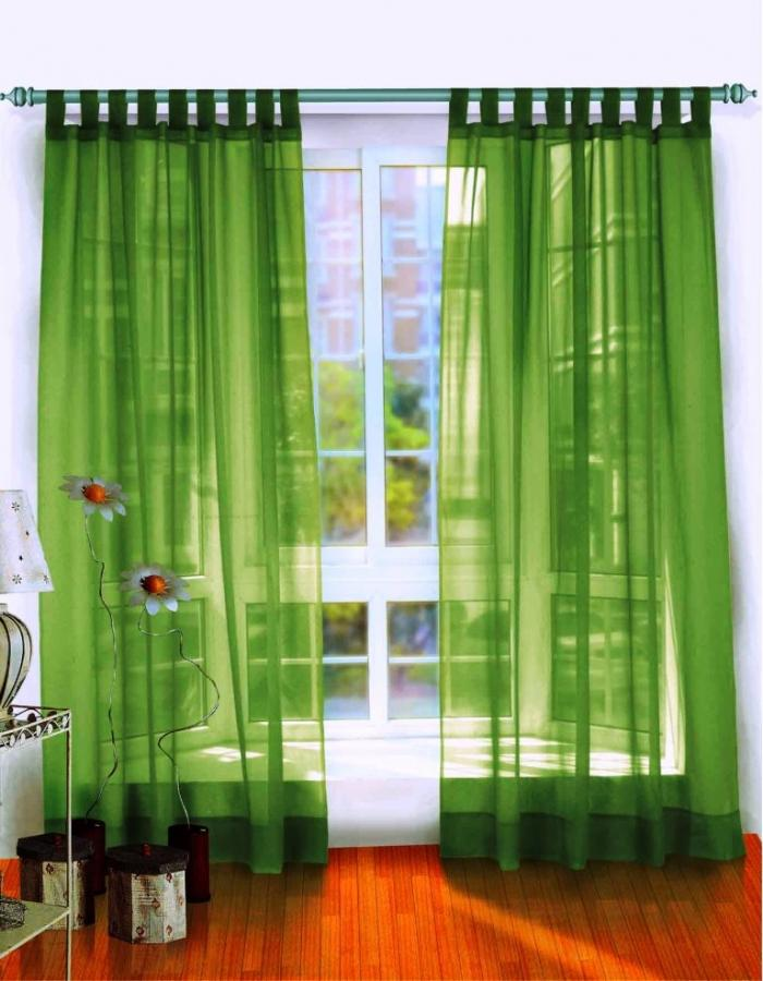 cool green sheer curtains in white wooden window with laminated wooden floor window curtain design - Window Curtain Design Ideas