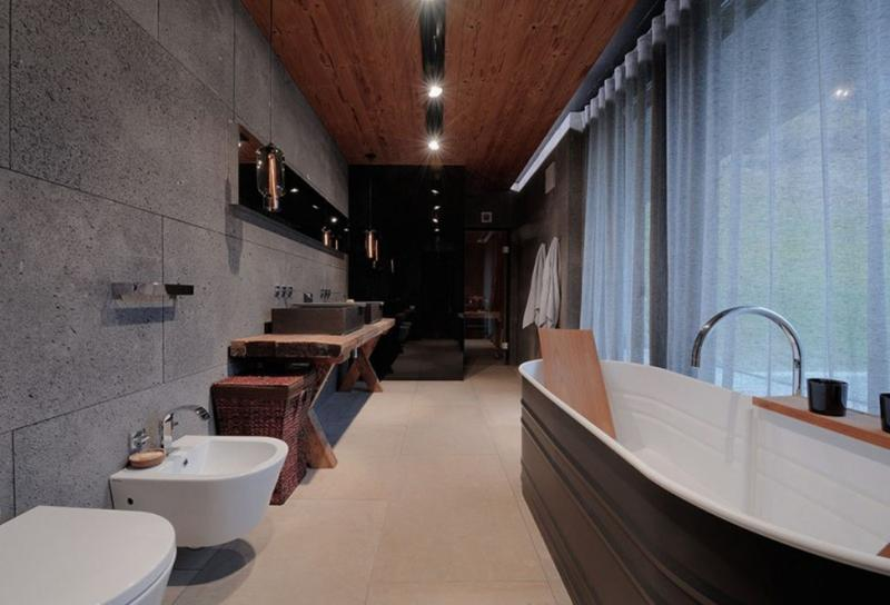 15 Bold Bathroom Designs with Concrete Walls Rilane