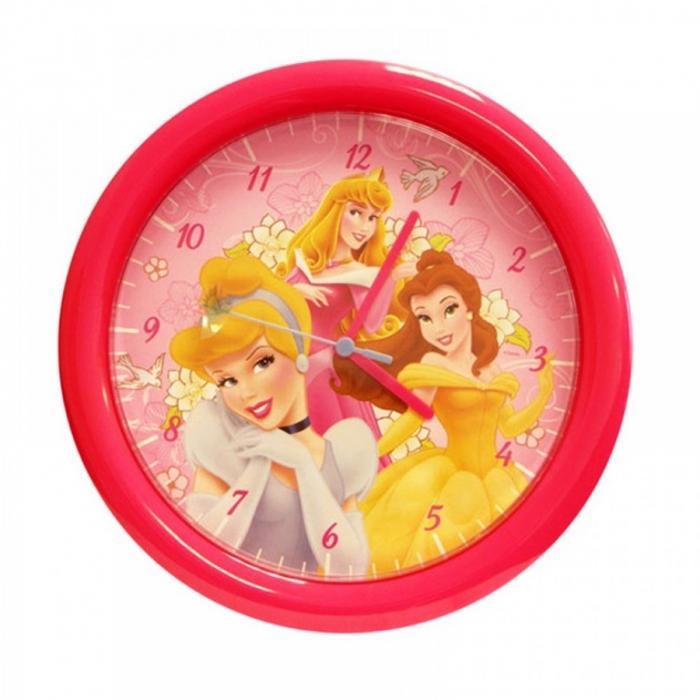Disney Princess Kids Wall Clock  Image source  Great Kids Bedroom. 20 Cute and Colorful Wall Mount Clocks for Kid s Bedroom   Rilane