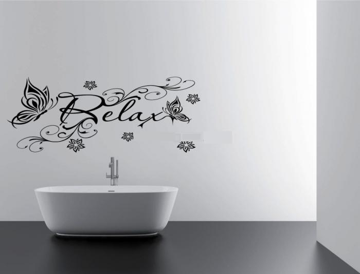 15 Decorative And Interesting Bathroom Wall Stickers Rilane
