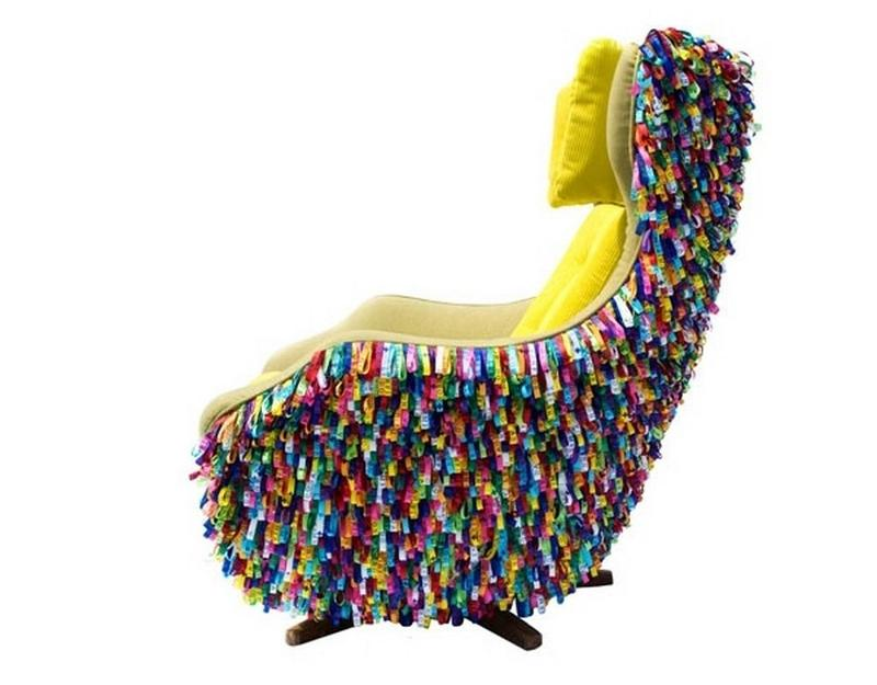 Charmant Funky Colorful Armchair