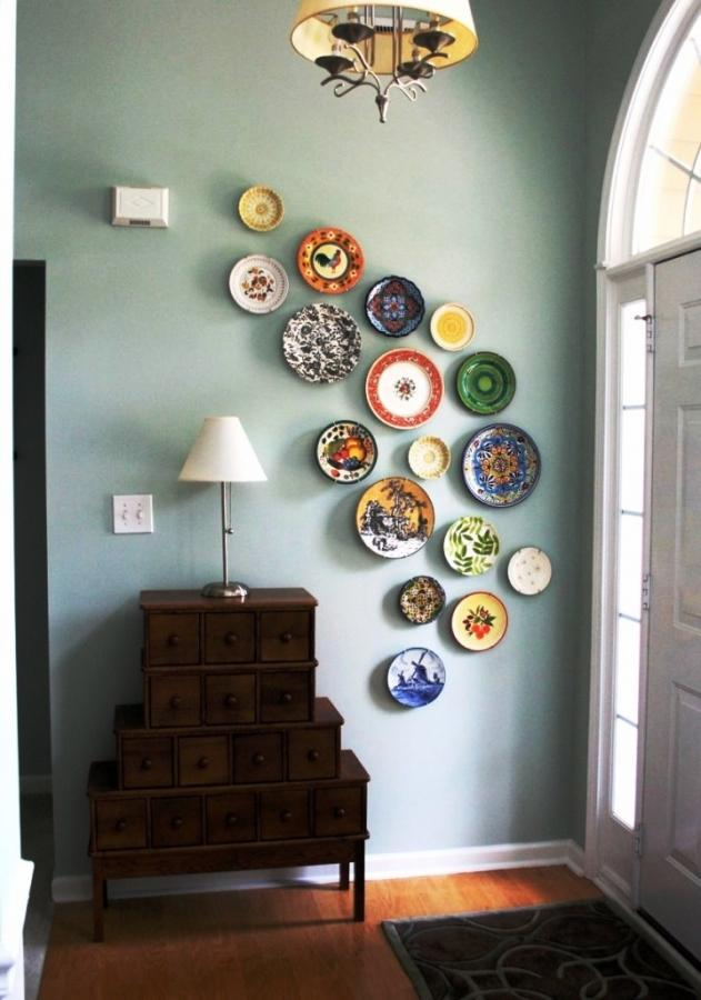 Gorgeous Canadian Decorating DIY Plates Wall Art Ideas