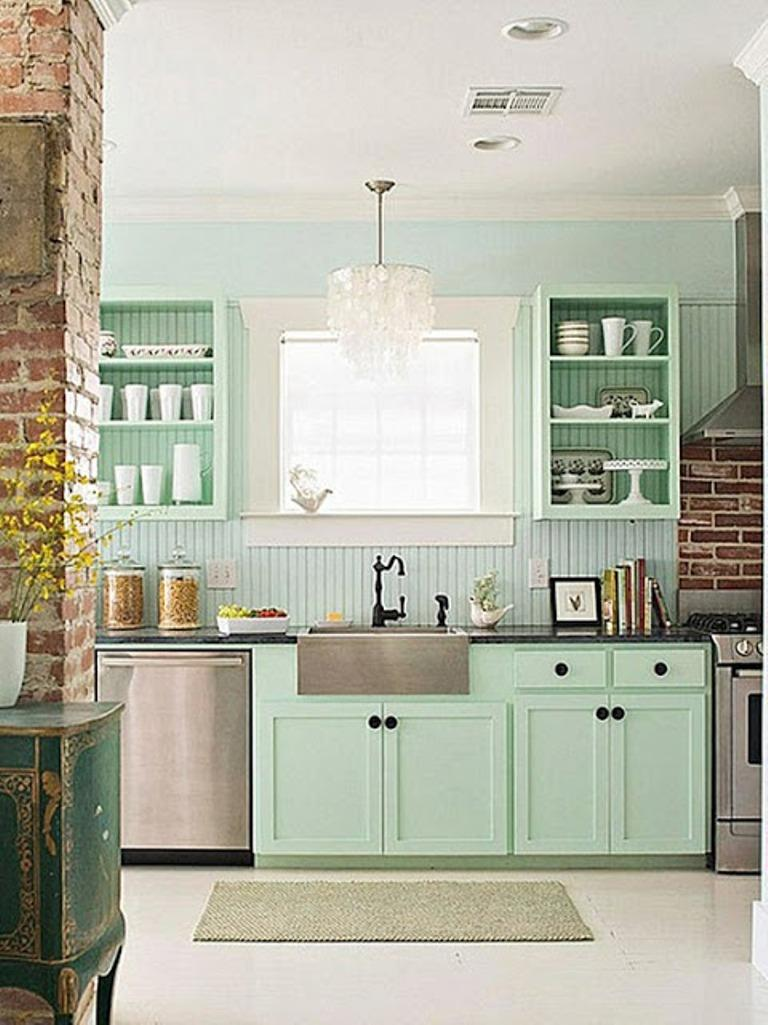 Colour For Kitchens 15 Soft Pastel Colored Kitchen Design Ideas Rilane