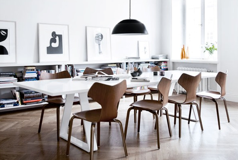 Gorgeous Scandinavian Dining Room. 20 Astonishing Scandinavian Dining Room Ideas   Rilane