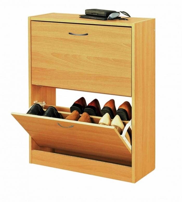 Home Furniture Wood Shoe Rack Organizer
