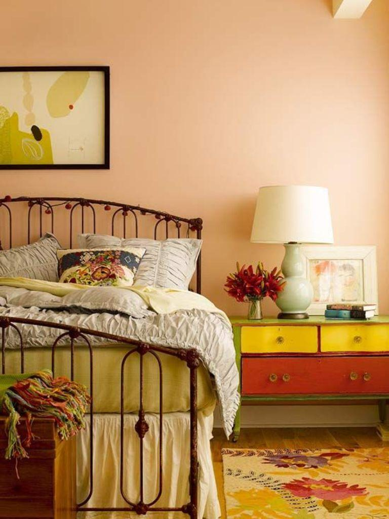 20 Charming Coral Peach Bedroom Ideas to Inspire You - Rilane