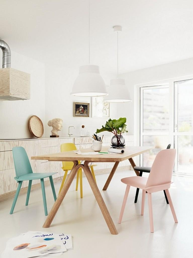 Pastel Scandinavian Dining Room. 20 Astonishing Scandinavian Dining Room Ideas   Rilane