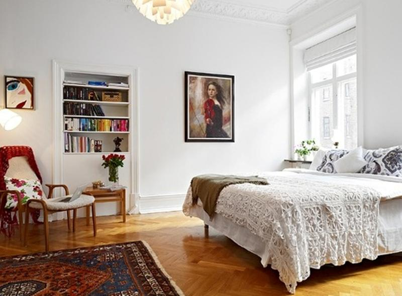 Quirky Scandinavian Bedroom