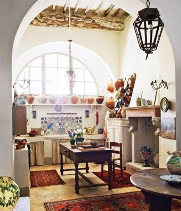 15 captivating bohemian chic kitchen design ideas rilane for Rustic chic kitchen ideas