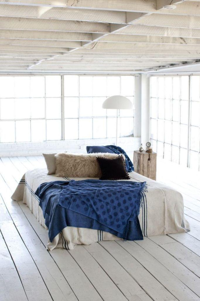 Scandinavian Bedroom With Glass Walls Image Source Elle Decor