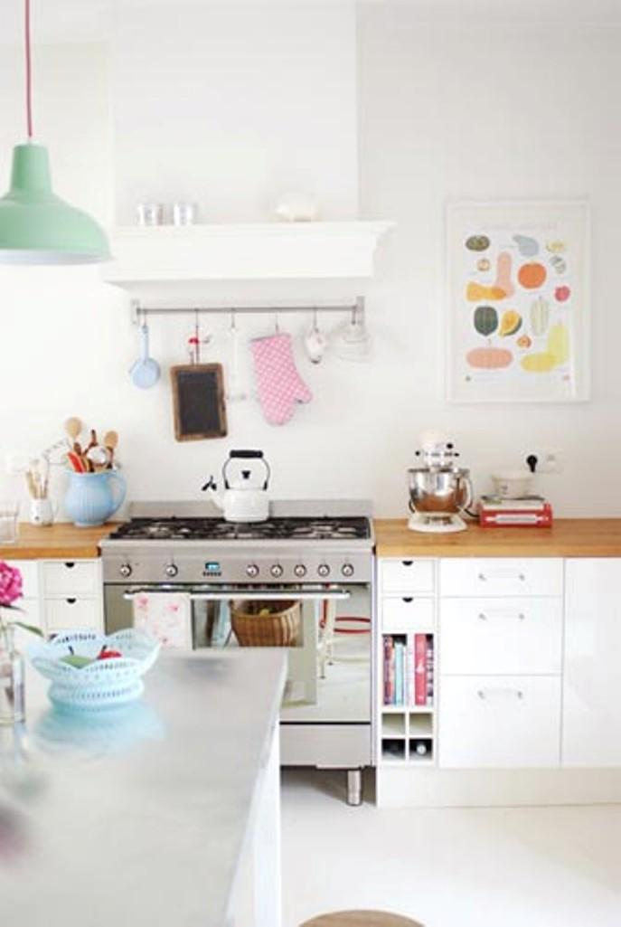 15 Soft Pastel Colored Kitchen Design Ideas Rilane