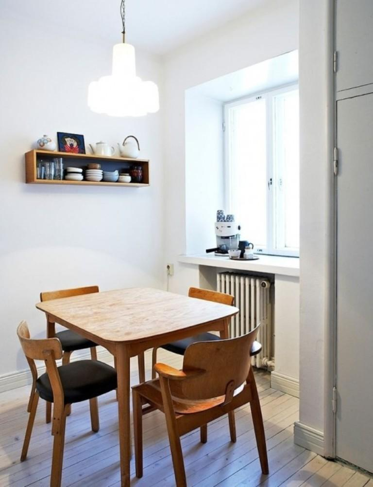 Small Scandinavian Dining Room. 20 Astonishing Scandinavian Dining Room Ideas   Rilane