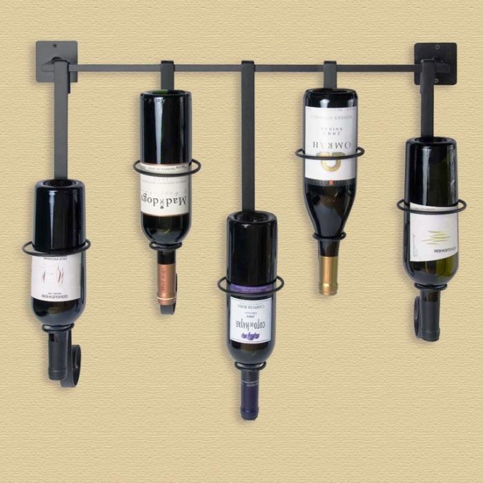 15 Stylish Wall Mount Wine Holders - Rilane