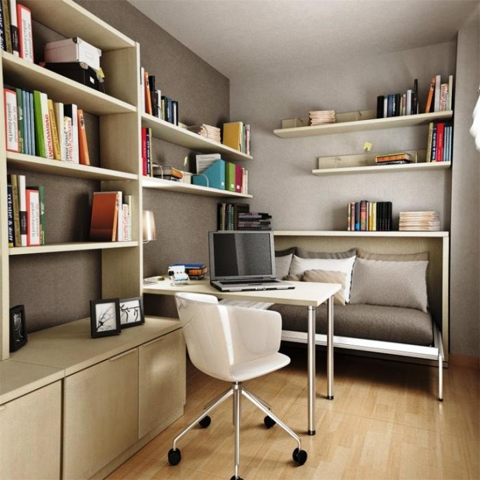 15 marvelous bedroom designs with accent bookshelf rilane for Bedroom ideas to boost intimacy