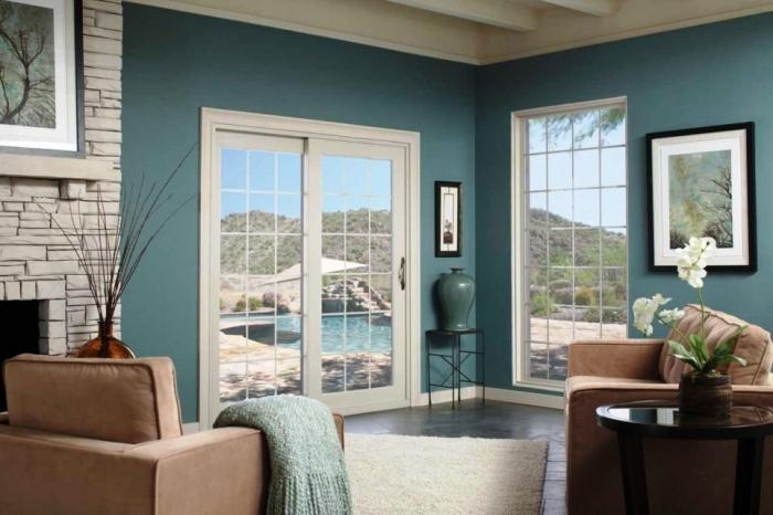 Vinyl French Doors For French Country Home Design