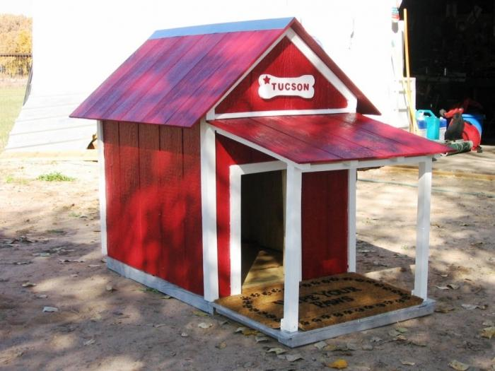 12 Lovable Outdoor Dog Houses Rilane