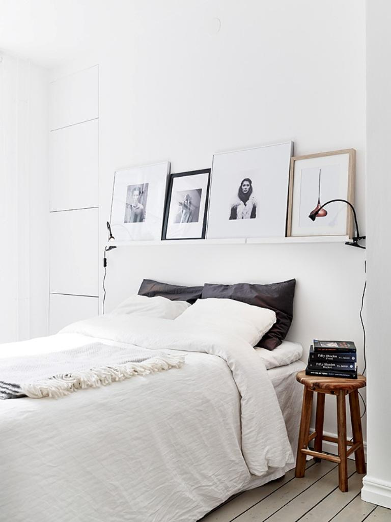 25 scandinavian bedroom designs to leave you in awe rilane - Dormitorio sin cabecero ...