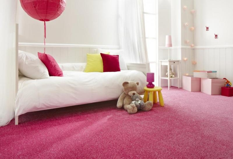 Adorable Pink And Yellow Girlu0027s Bedroom