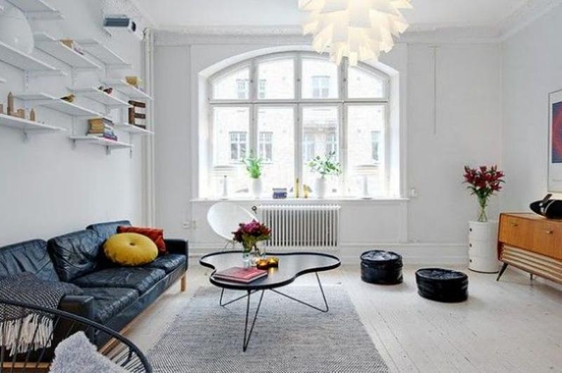 Lovely Airy Scandinavian Living Room Part 28