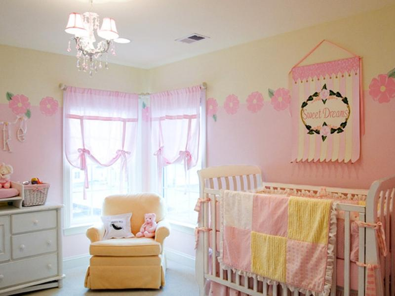 Amazing Pink And Yellow S Nursery