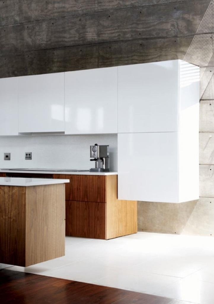 20 Extremely Bold Kitchen Designs With Concrete Wall Rilane