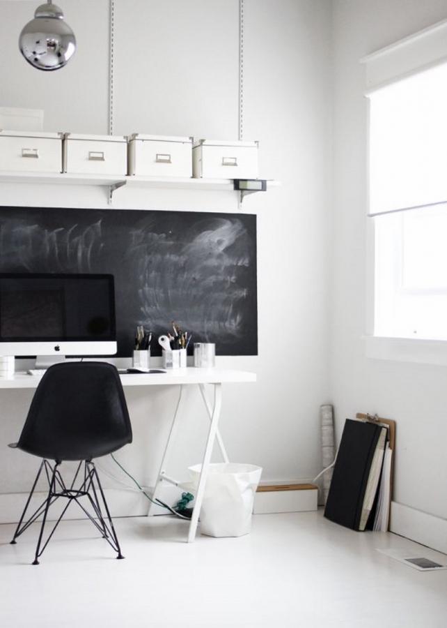 Pure Scandinavian Home Office