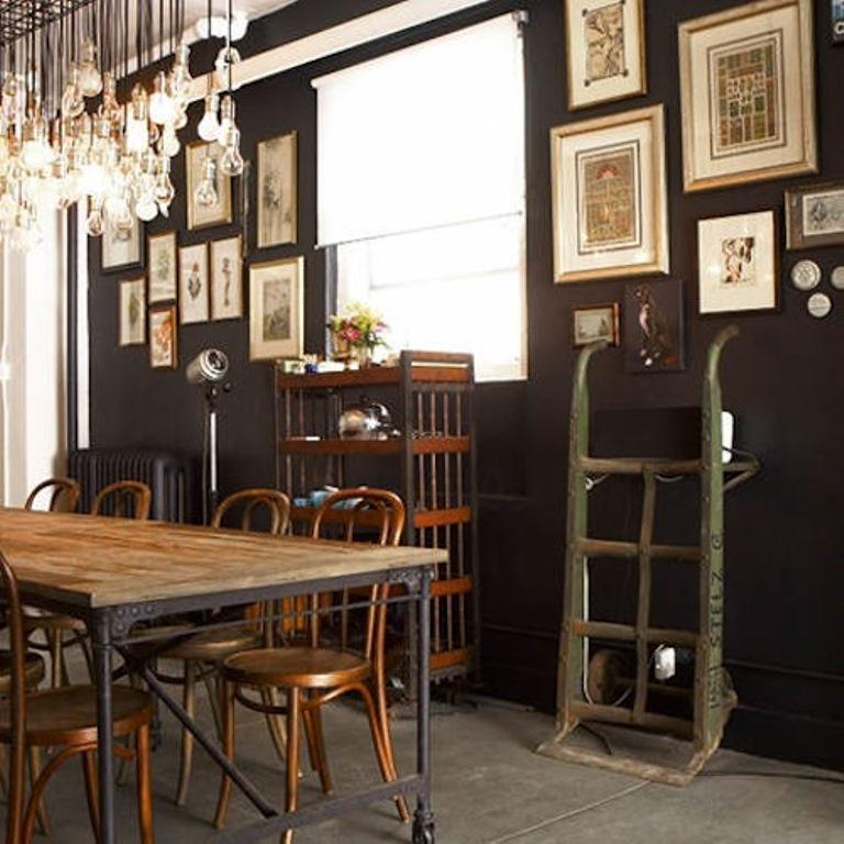 15 Chic Industrial Dining Room Design Ideas