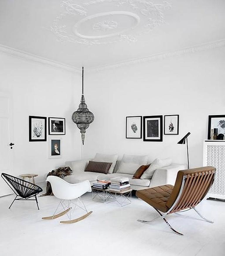 Danish Style Living Room