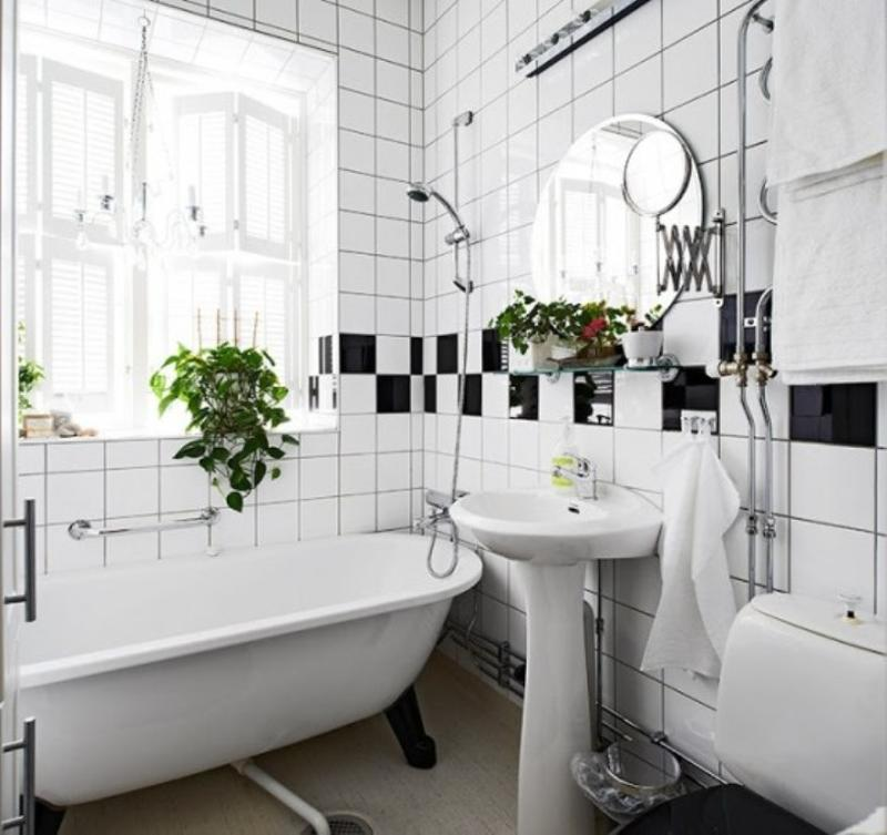 Amazing Black And White Scandinavian Bathroom Amazing Ideas