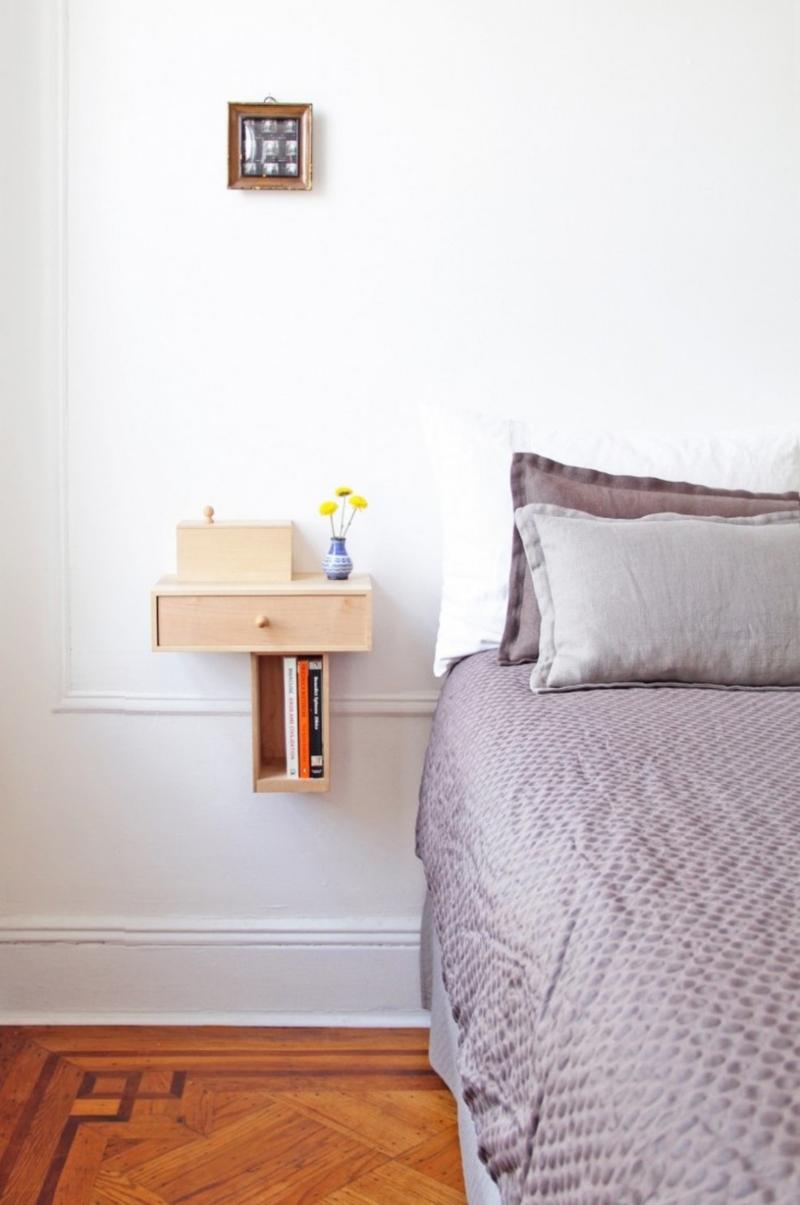 Mounted Bedside Table 10 Super Chic Floating Bedside Table Designs For The Bedroom  Rilane