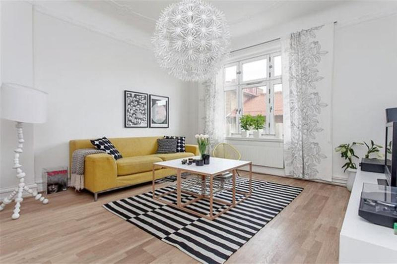 casual scandinavian living room - Scandinavian Living Room